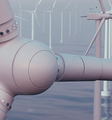 IFPEN utilise le calcul intensif pour réduire le coût des éoliennes flottantes