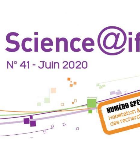 Numéro 41 de Science@ifpen - spécial : Habilitation à diriger des recherches (HDR)