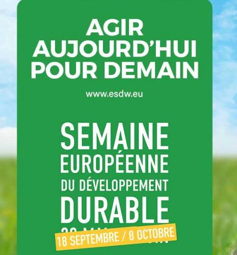 Les Semaines Européennes du Développement Durable 2020 à IFPEN