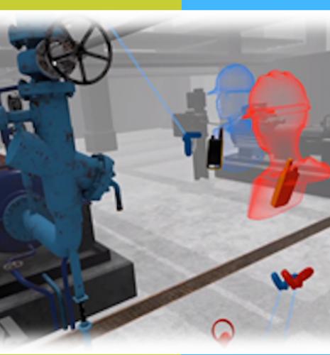 Retour d'expérience sur le module de réalité virtuelle pompe industrielle