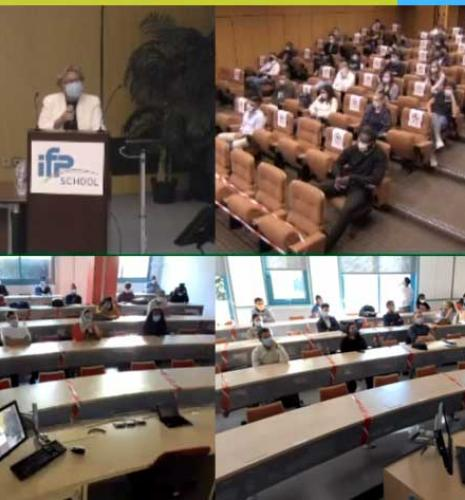 Rentrée 2020 à IFP School