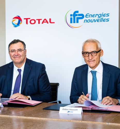 Total et IFPEN s'allient pour accélérer la R&D sur la réduction des émissions de CO2