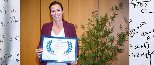 Le prix Yves Chauvin 2019 remis à Céline Pagis pour ses travaux en chimie des matériaux et catalyse