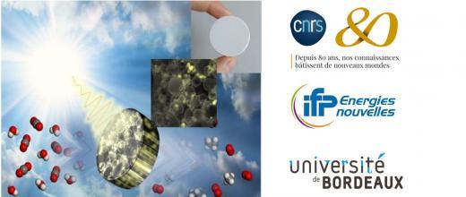 Carburants solaires : des éponges photoniques 3D pour une meilleure valorisation du CO2