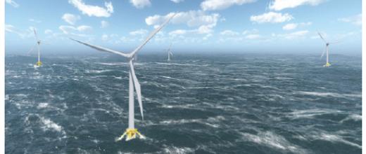 Éolien flottant : gagner en fiabilité dans l'océan des possibles