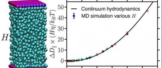 Mieux simuler les processus de transport dans des nanopores grâce à la dynamique moléculaire