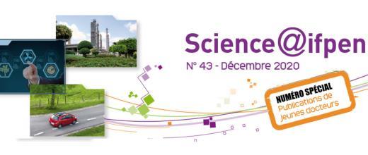 Numéro 43 de Science@ifpen - Publications de jeunes docteurs