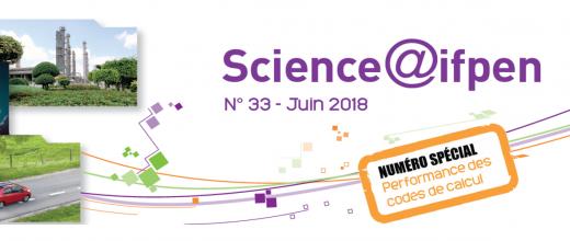 Numéro 33 de Science@ifpen - Performance des codes de calcul