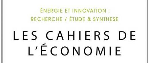 Les Cahiers de l'Économie - Archives de numéros