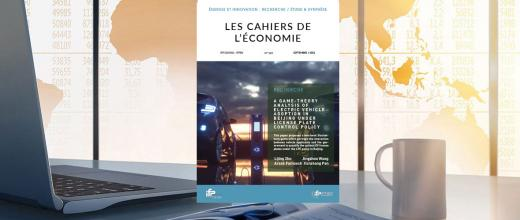 """Les Cahiers de l'économie n°145 - """"A Game-theory Analysis of Electric Vehicle Adoption in Beijing under License Plate Control Policy"""""""