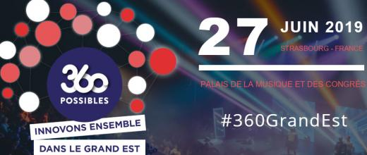 IFPEN présent à l'événement « 360 possibles : innovons ensemble dans le Grand Est » (Strasbourg)