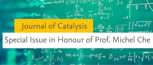 Le professeur Michel Che à l'honneur d'un numéro spécial de Journal of Catalysis
