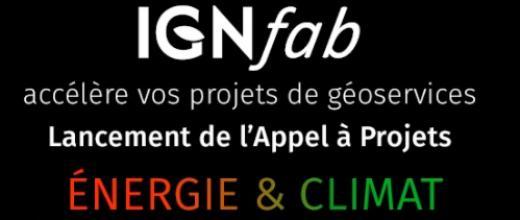 Appel à projet IGNfab : IFPEN soutient les start-up et PME innovantes