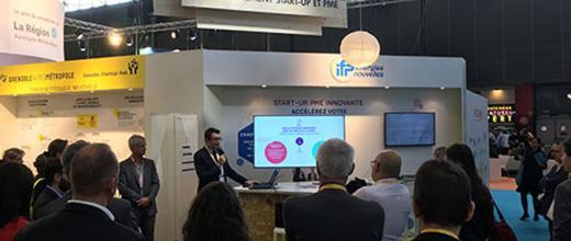 IFP Energies nouvelles à Pollutec 2018, salon international de l'environnement
